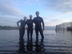 3 amigos in Loch Lomond